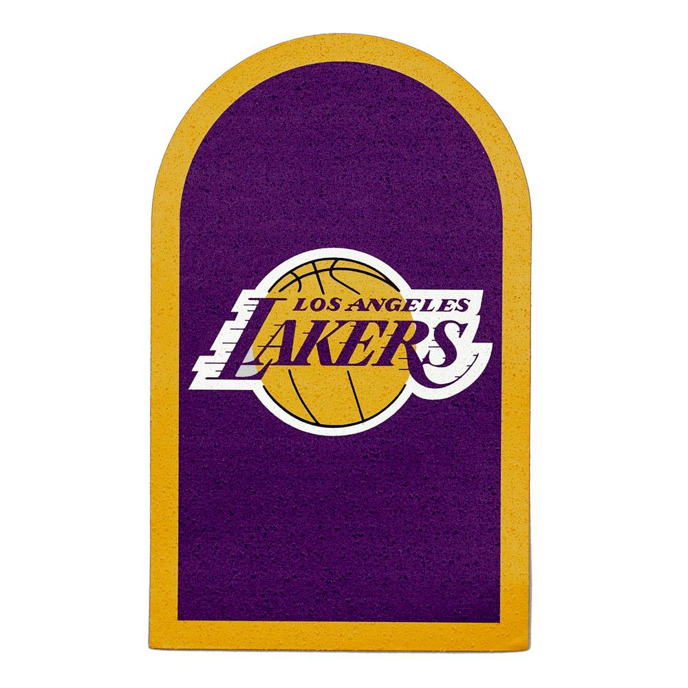 NBA Los Angeles Lakers Mailbox Door Logo Graphic