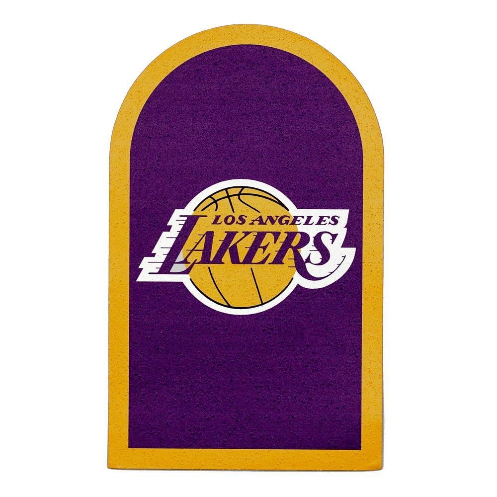 NBA Los Angeles Lakers Mailbox Door Logo Graphic