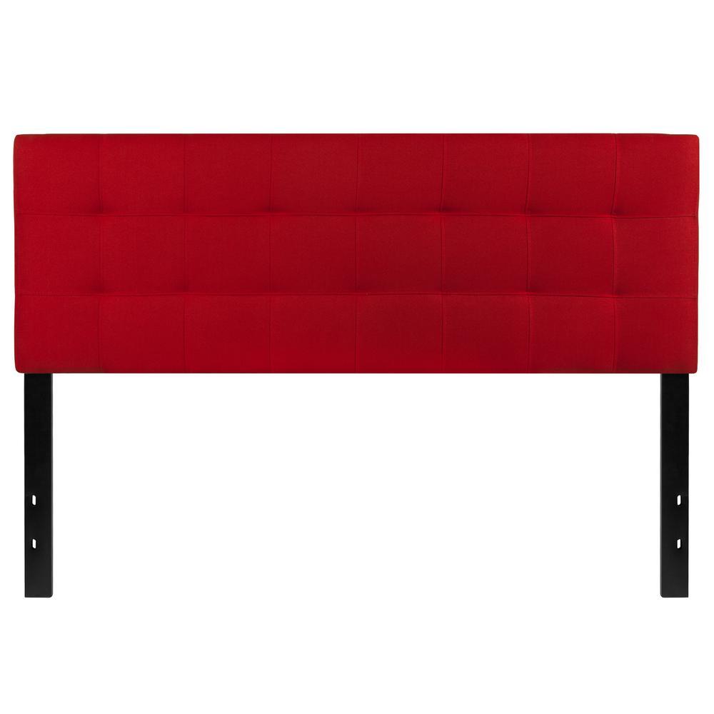 Queen Red Headboard