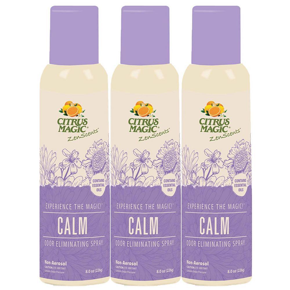 8 oz. ZenScents Aromatherapy Spray Air Freshener, Calm (Pack of 3)