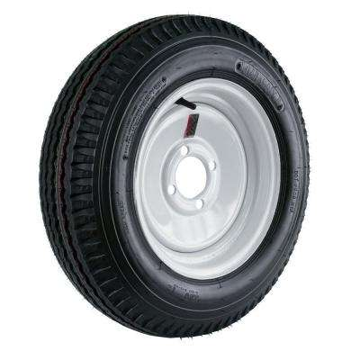5.30-12 Load Range C 4-Hole Trailer Tire and Wheel Assembly