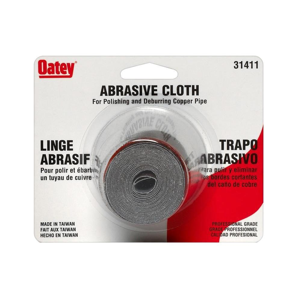 Oatey 1-1/2 in. x 2-Yard Plumbers Abrasive Cloth Roll