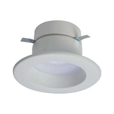 RL 4 in. 2700K-5000K Tunable Smart White Integrated LED Recessed Ceiling Light Trim Selectable Lumens by HALO Home