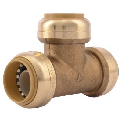 1 in. Push-to-Connect Brass Tee Fitting