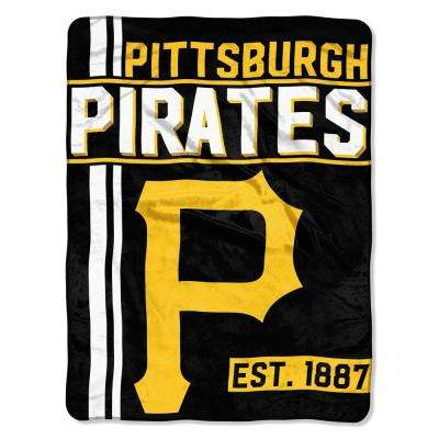 Pirates Multi Color Polyester Walk Off Micro
