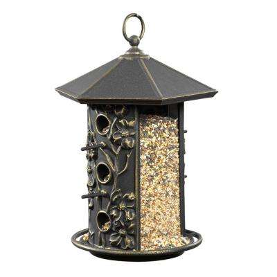 Oil Rubbed Bronze Dogwood Birdfeeder