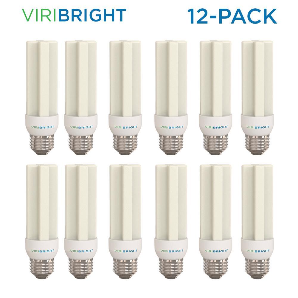 100-Watt Equivalent Non-Dimmable 1500 Lumens UL Listed E26 LED Light Bulb Warm White (12-Pack)