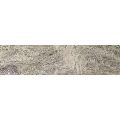 Travertine Silver Veincut, Filled and Honed 6 in. x 24 in. Travertine Floor and Wall Tile