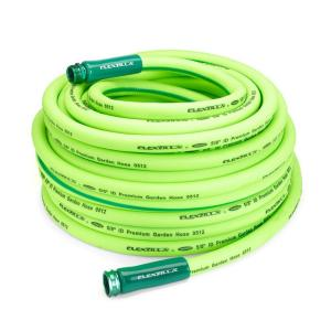 Flexzilla 5/8 inch x 100 ft. ZillaGreen Garden Hose with 3/4 inch GHT Ends by Flexzilla