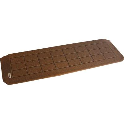 1.25 in. H x 42 in. W Nutmeg Brown Recycled Polymer Threshold Wheelchair Ramp