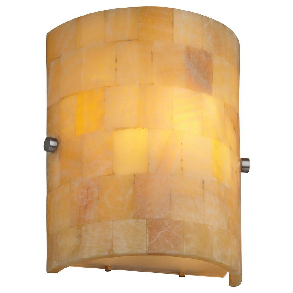 Philips Forecast Hudson 1-Light Satin Nickel Wall Sconce-DISCONTINUED