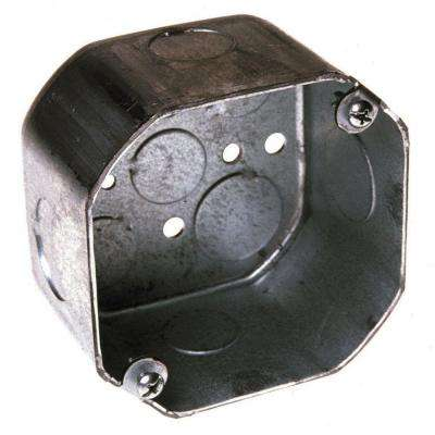 4 in. Drawn Octagon Electrical Box