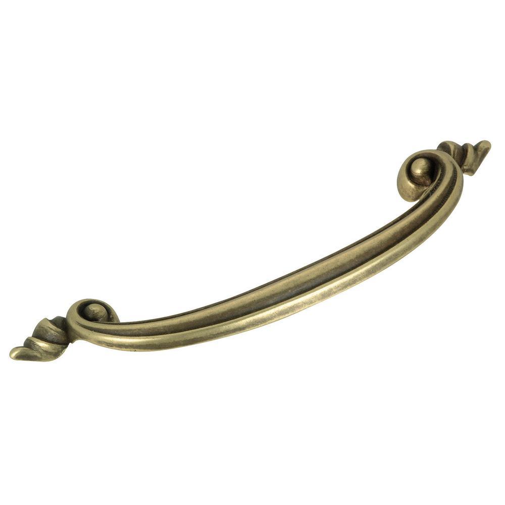 2-17/32 in. (64 mm) Opaque Bronze Cabinet Pull