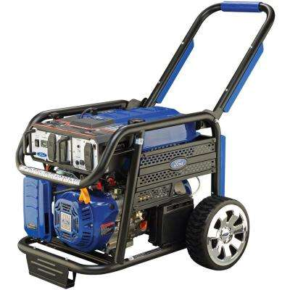 7,750-Watt Gasoline Powered Electric Start Portable Generator