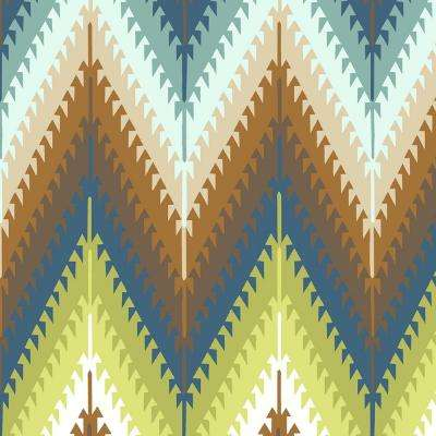 Pueblo Flame Stitch Fabric by the Yard