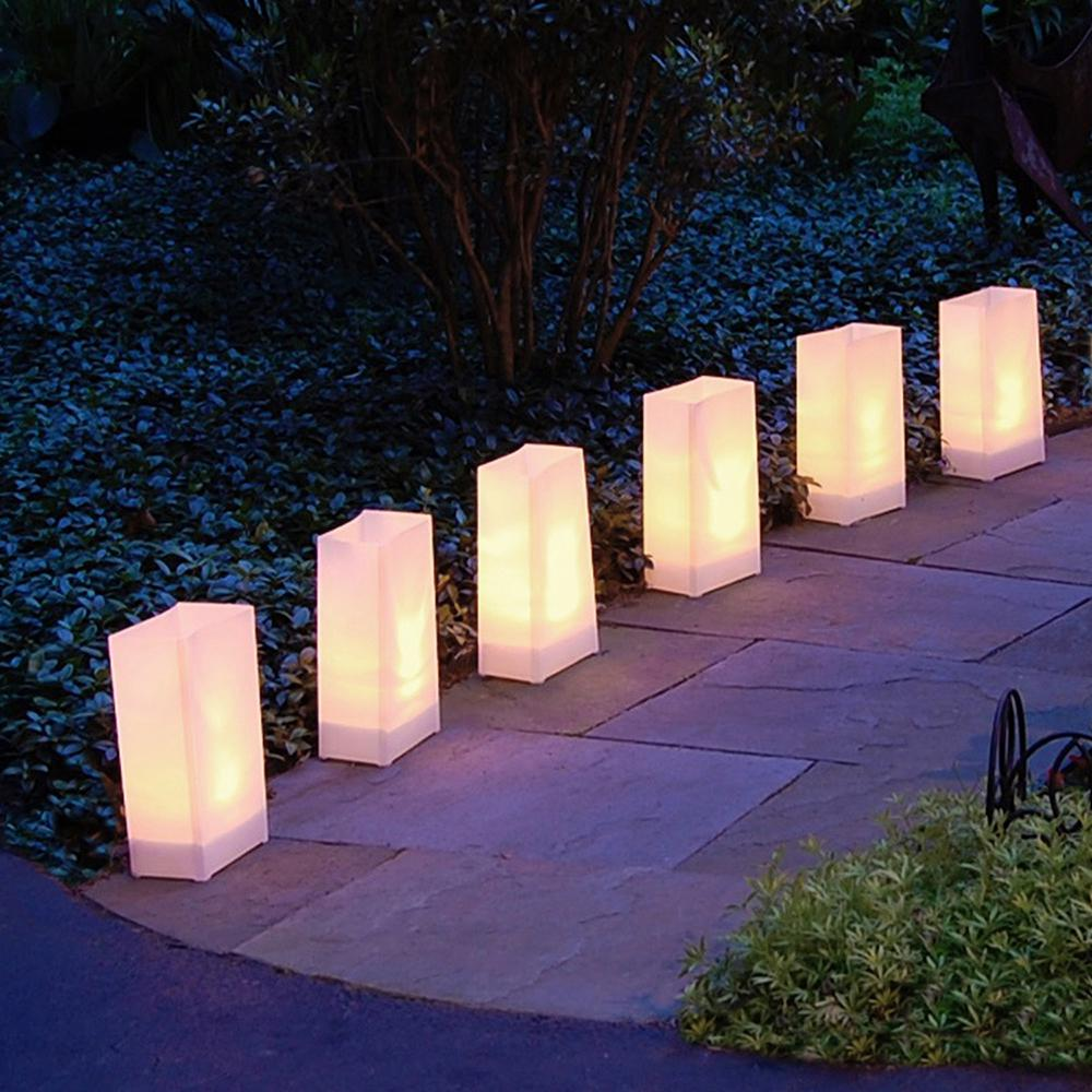 Electric LED Luminaria Kit- White (6-Count)