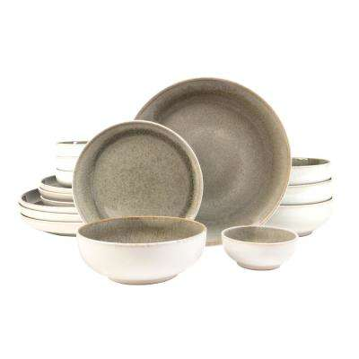 Resona Moss 16-Piece Dinnerware Set