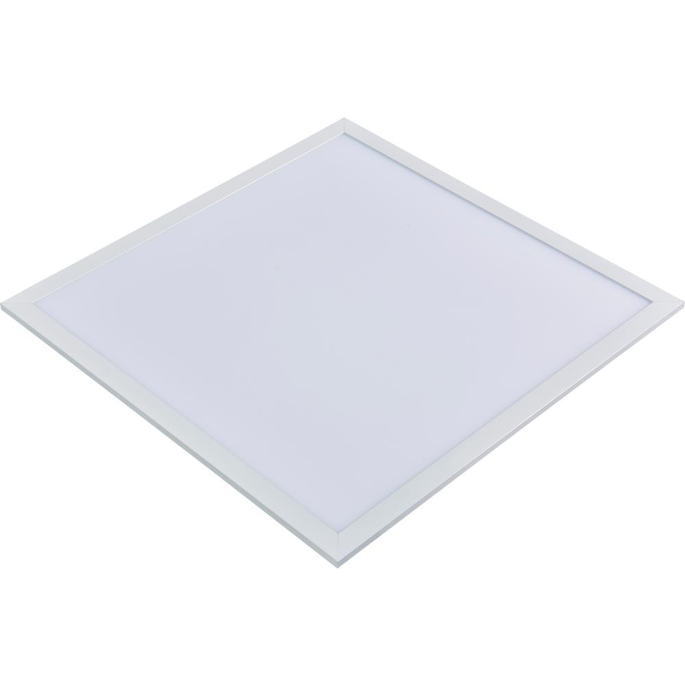 2 x 2 Flat Panel 5000K 120-Watt Equivalent White Edge-Lit Integrated