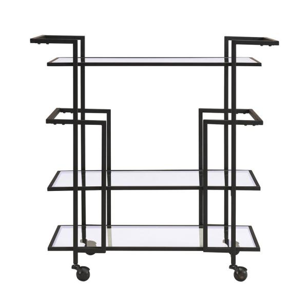 Southern Enterprises Della Art Deco Bar Cart HD523910