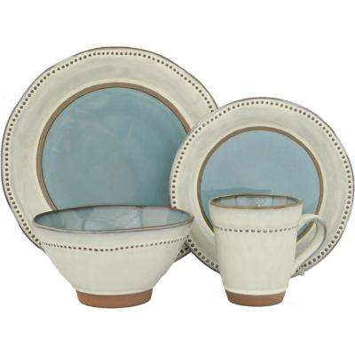 16-Piece Ruvo Emerald Dinnerware Set