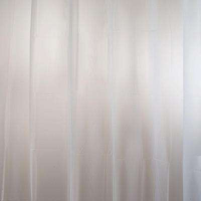 EVA Shower Curtain Liner in Clear Frost