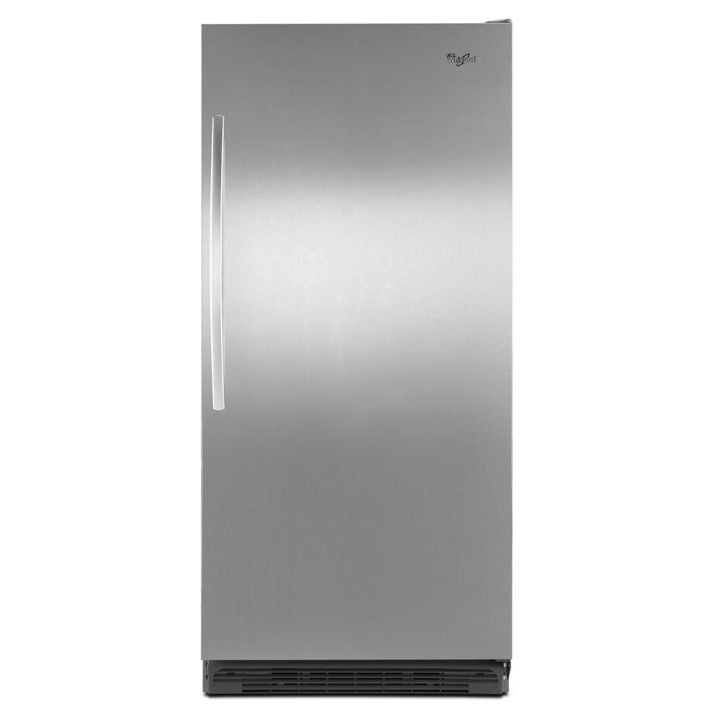 Whirlpool Sidekicks 17.7 cu. ft. All-Refrigerator in Stainless Steel