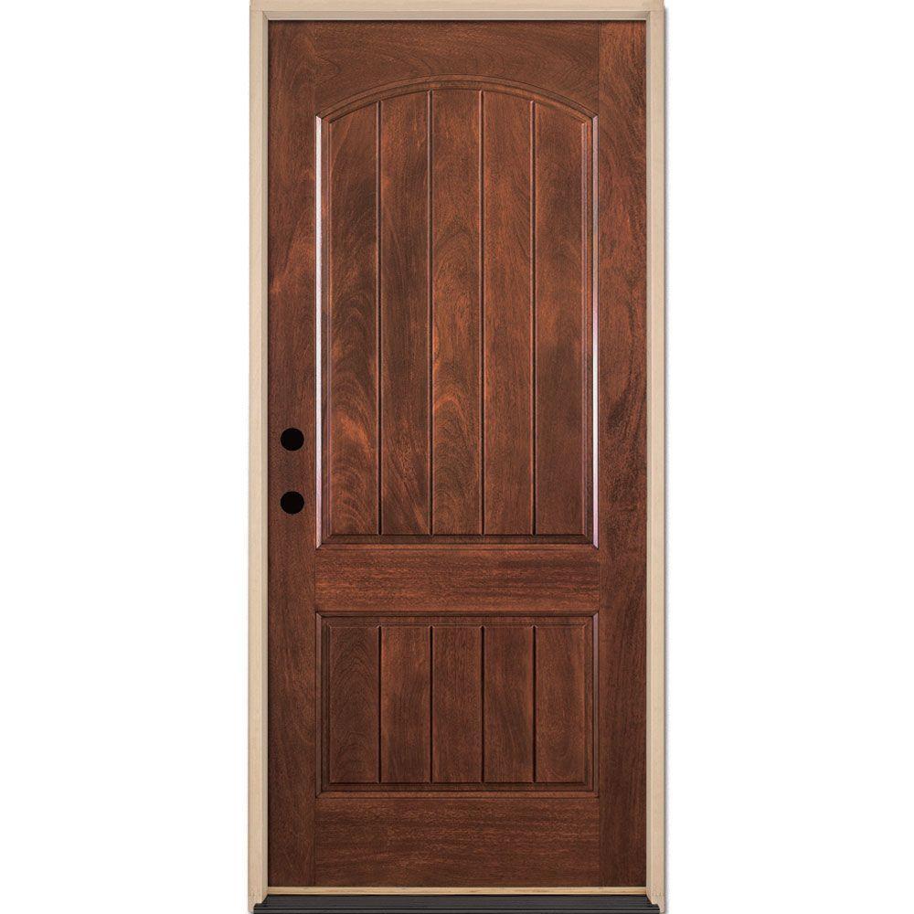 Krosswood Doors 36 In X 80 In Rustic Knotty Alder 2