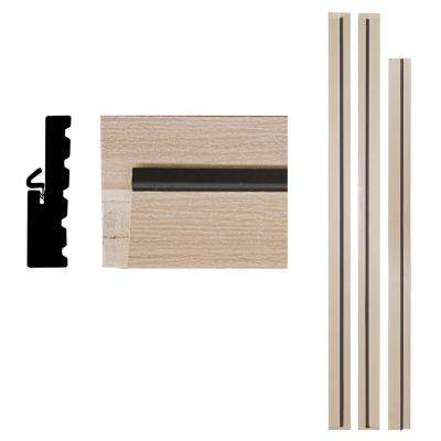 4Ever Frame 1-1/4 in. x 4-9/16 in. x 83 in. Primed Woodgrain Composite Patio Door Frame Kit