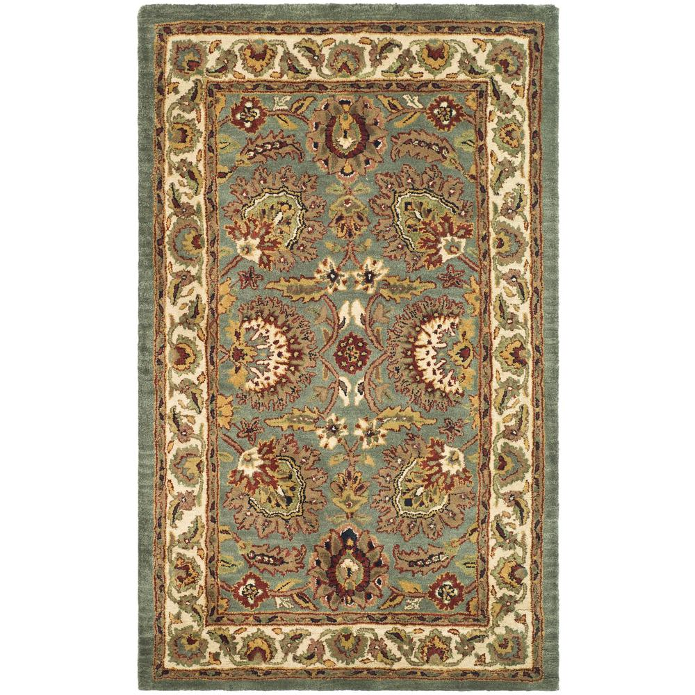 Classic Celadon/Ivory 2 ft. x 3 ft. Area Rug