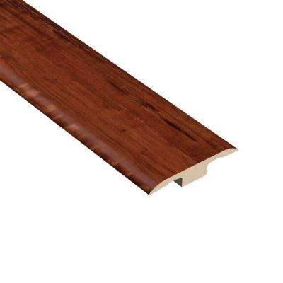Catalina Hickory 1/8 in. Thick x 1-3/8 in. Wide x 94-1/2 in. Length Vinyl T-Molding