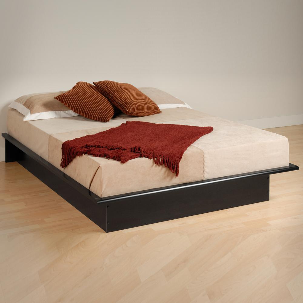 Prepac Full Wood Platform Bed