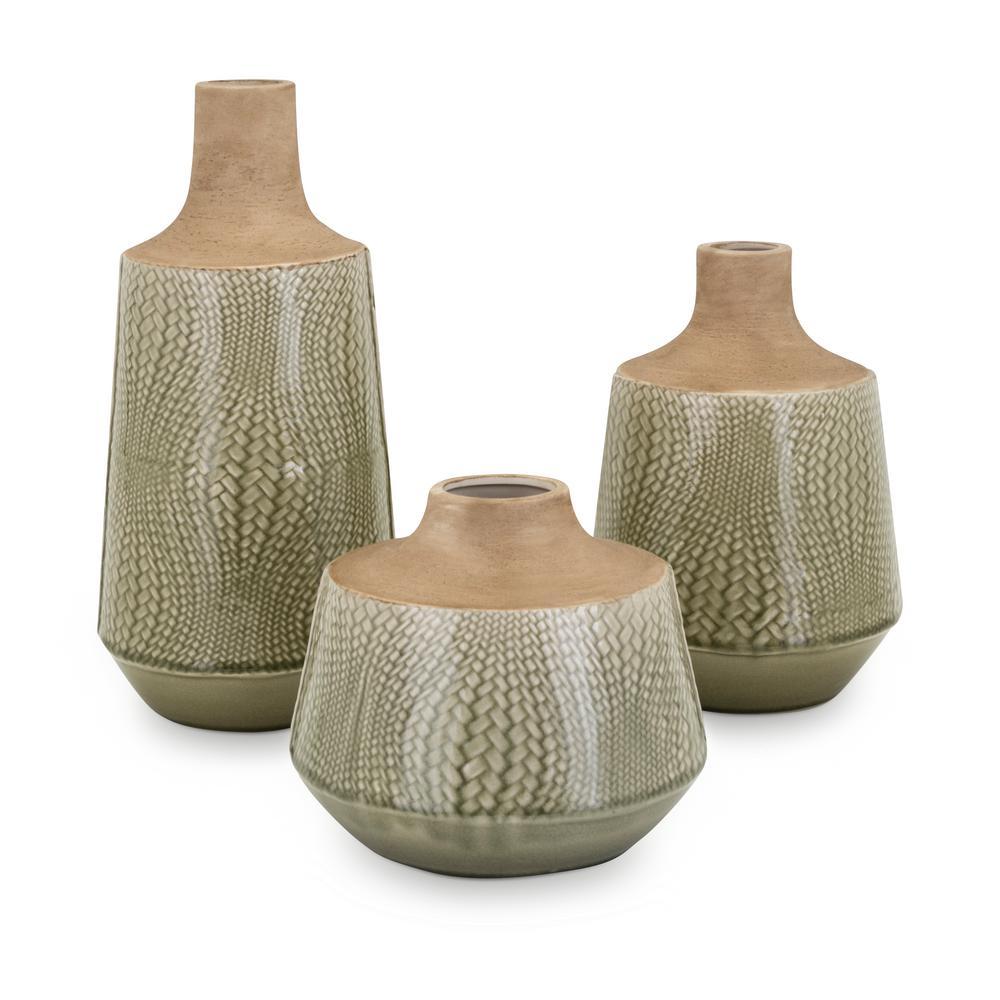 Hunter Vases (Set of 3)