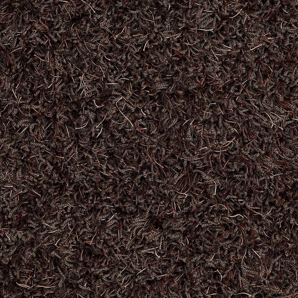 Carpet Sample - Royal Step - In Color Dark Truffle 8 in. x 8 in.