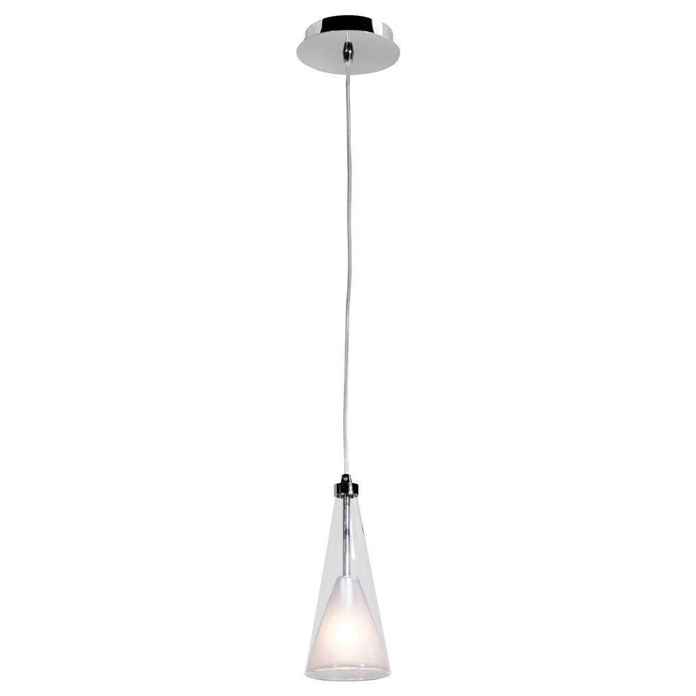 Light Chrome Led Pendant