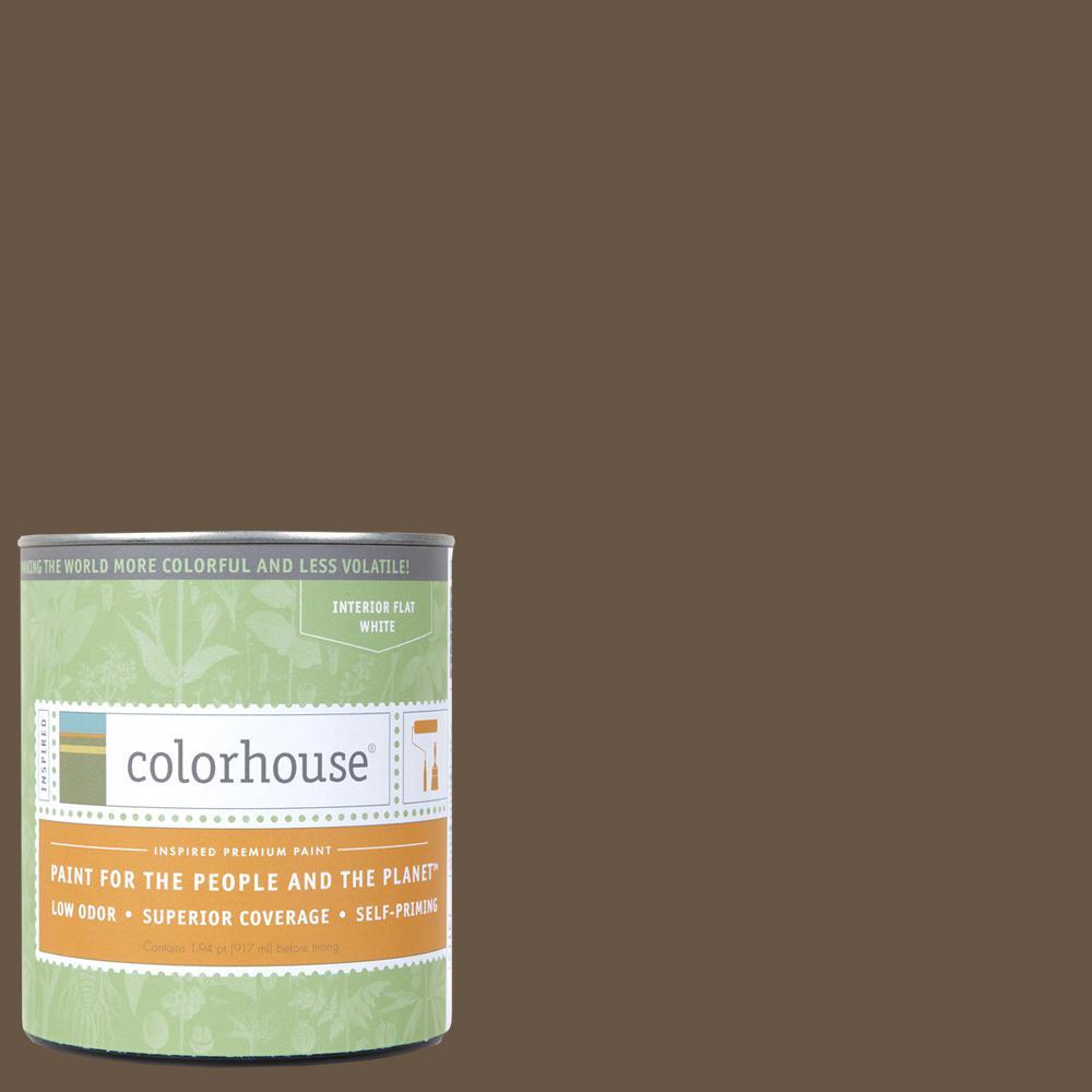 1 qt. Clay .06 Flat Interior Paint