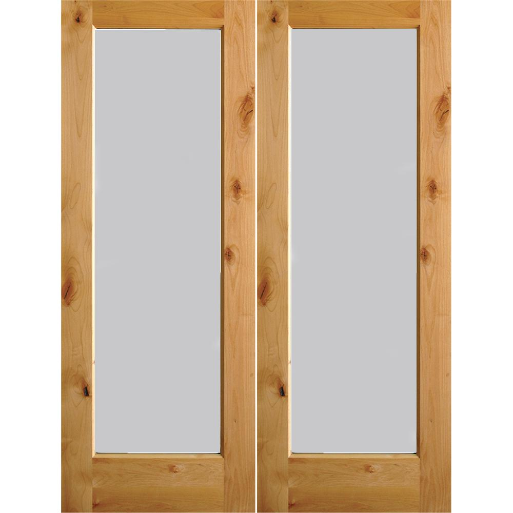 Krosswood Doors 30 In X 80 In Rustic Knotty Alder 2: Krosswood Doors 72 In. X 80 In. Rustic Knotty Alder Full