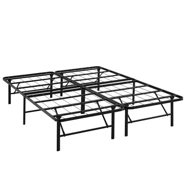 MODWAY Horizon Brown Full Stainless Steel Bed Frame MOD-5428-BRN