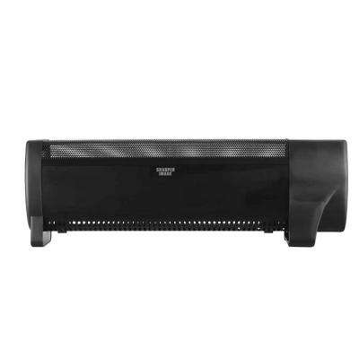 8.7 in. Black Baseboard Floor Heater