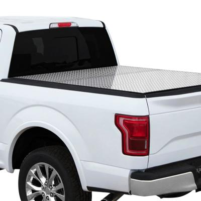 Professional Series Tri-Fold Cover 2007+ Toyota Tundra - 5ft 6in (w/ Deck Rail)