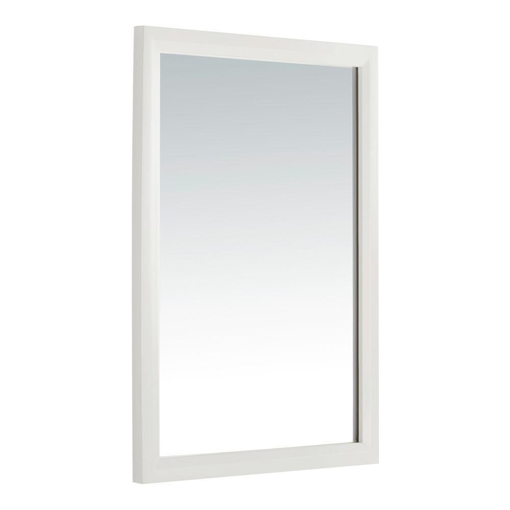 Simpli Home Urban Loft 30 In. L X 22 In. W Wall Mirror In