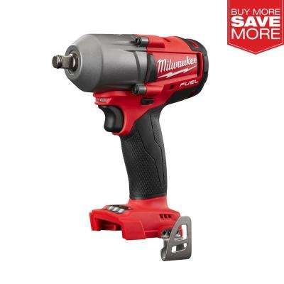 M18 FUEL 18-Volt Lithium-Ion Brushless Cordless Mid Torque 1/2 in. Impact Wrench W/ Friction Ring (Tool-Only)