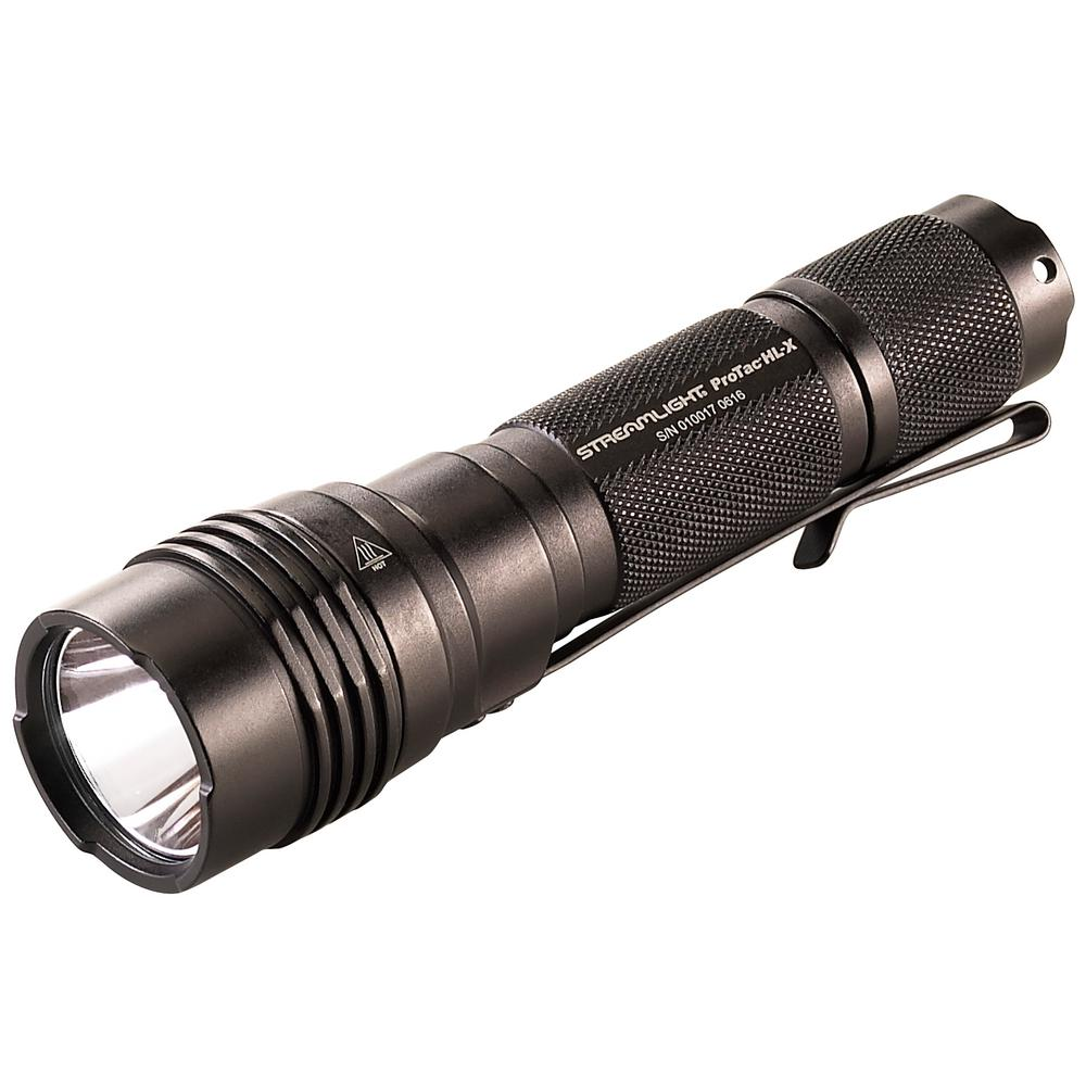 Streamlight ProTac HLX Includes 2 CR123A Lithium Batteries and Holster Box in Black
