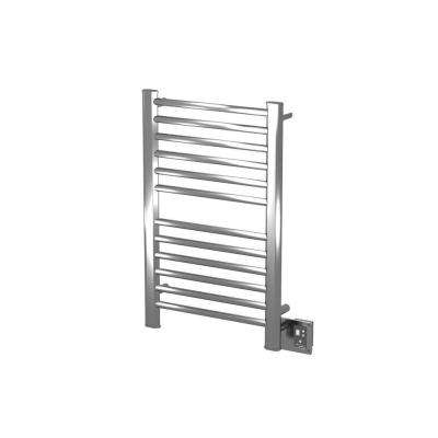 Sirio S-2133 21 in. W x 23.25 in. H 12-Bar Electric Towel Warmer in Polished Stainless Steel