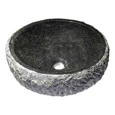 Dragons Ash Vessel Sink in Mandy Black