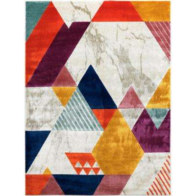 Tanja Swayze Multi 7 ft. 10 in. x 10 ft. 2 in. Indoor Area Rug