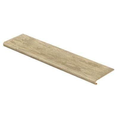Lissine Travertine 47 in. Long x 12-1/8 in. Deep x 1-11/16 in. Height Laminate to Cover Stairs 1 in. Thick