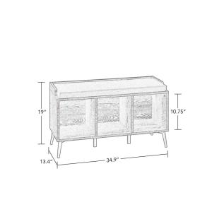 Cool Riverridge Home Woodbury Weathered Wood Storage Bench With Ncnpc Chair Design For Home Ncnpcorg