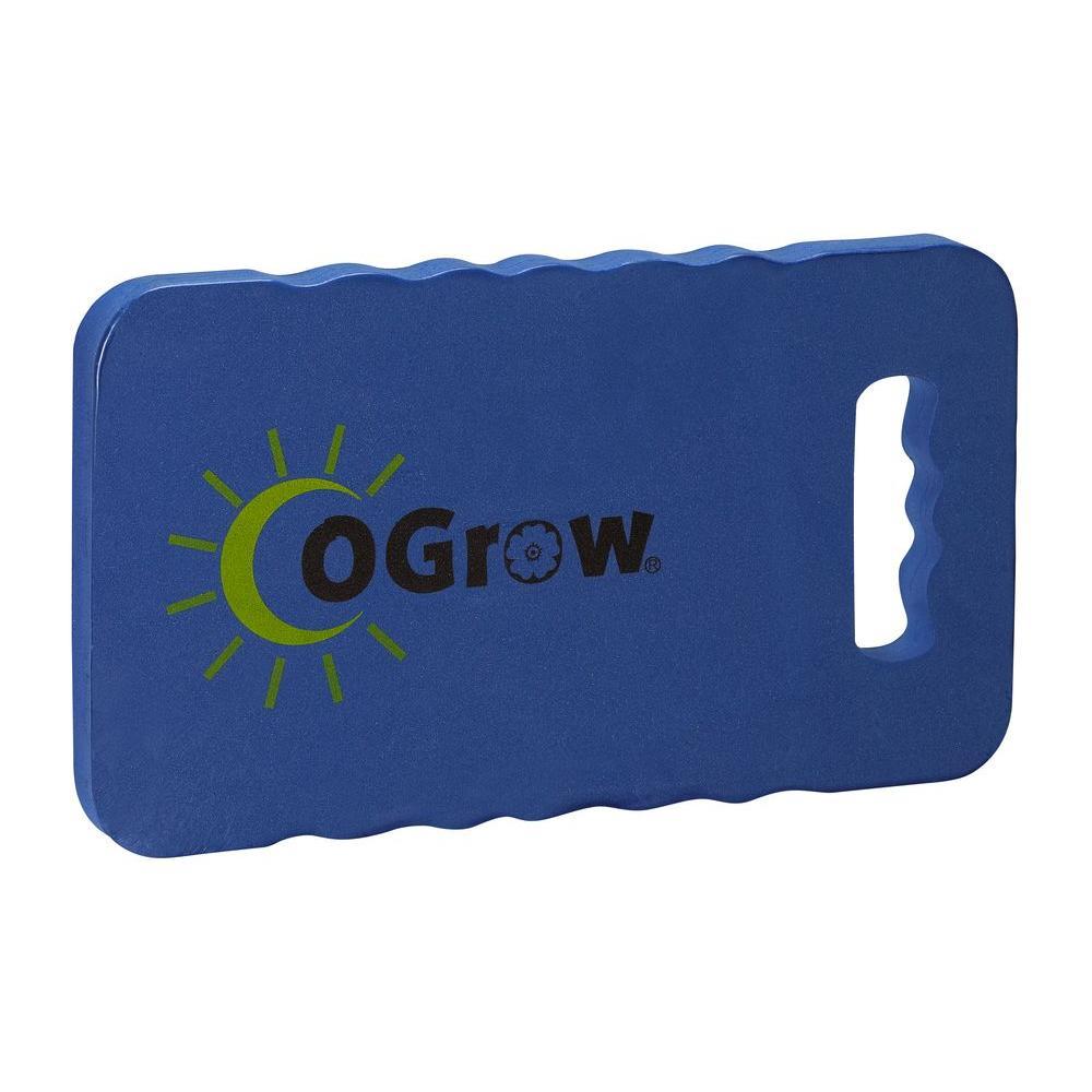 Ogrow 1 in. Thick 17 in. x 11 in. Blue Garden Kneeling Pad