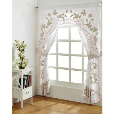 Bloomfield 60 in. x 40 in. Rose Valance
