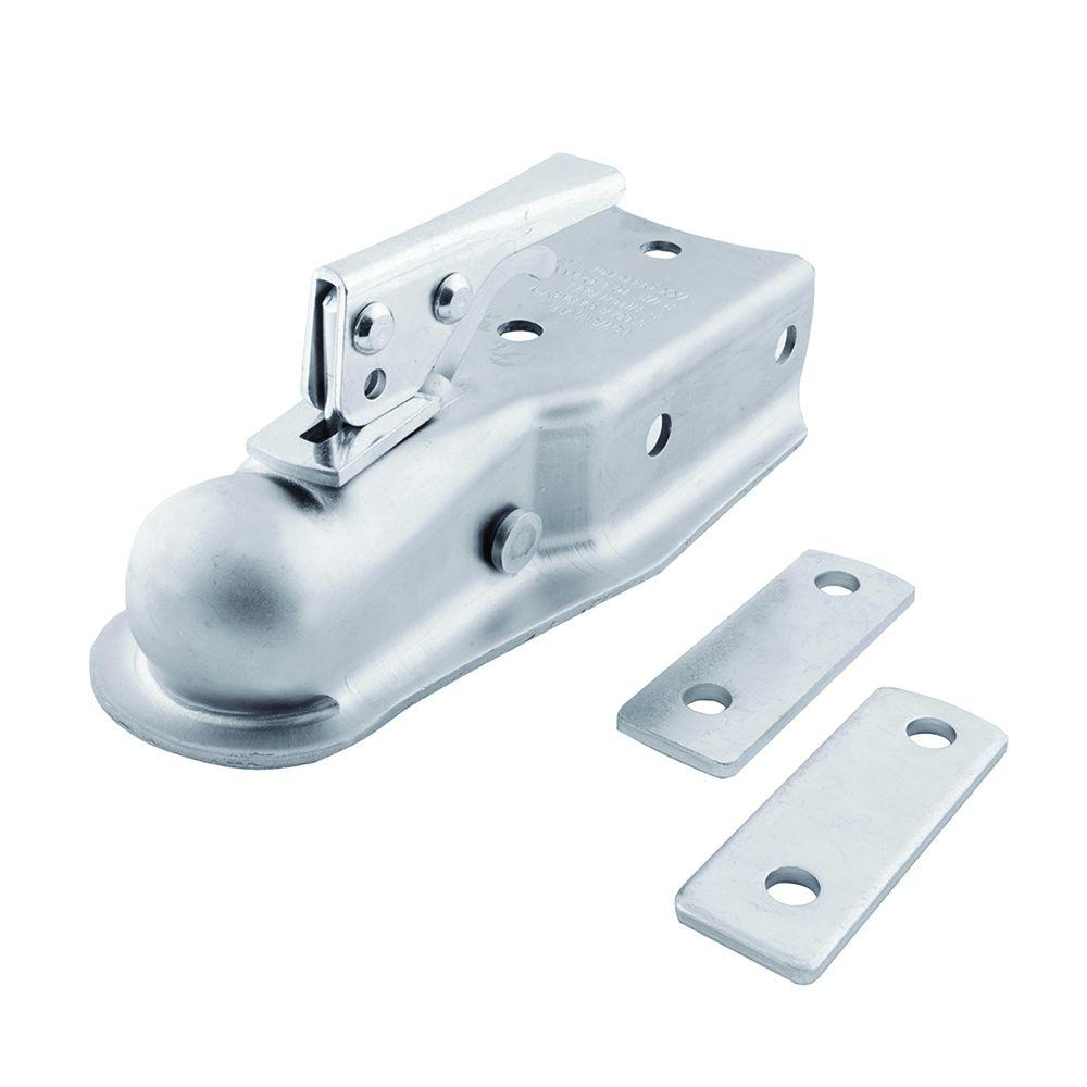 TowSmart TowSmart 2 in. Ball Coupler with 2-1/2 in. to 3 in. Adjustable Collars